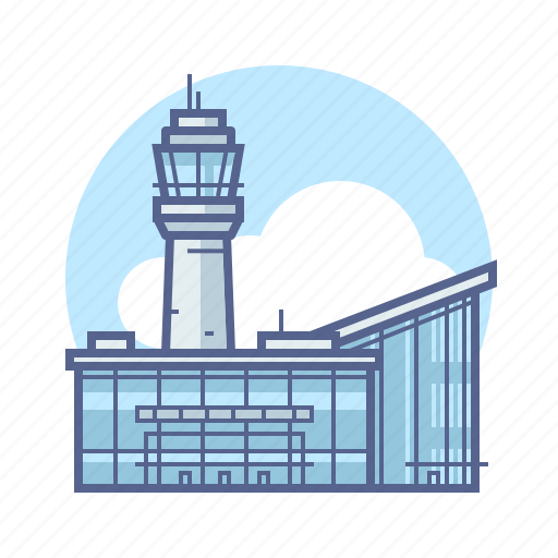 aircraft, airport, travel icon