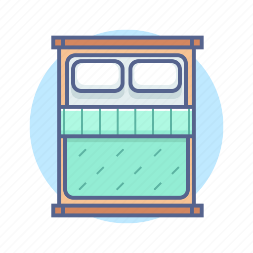 bed, hotel, house, room icon