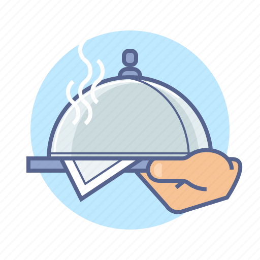 delivery, dinner, food, hotel, kitchen, restaurant, service icon