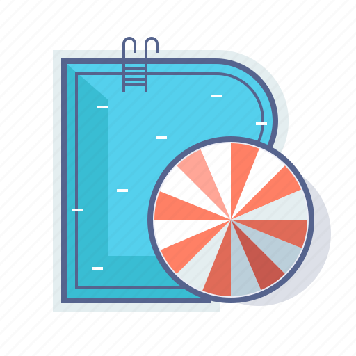 holiday, hotel, pool, swimming icon