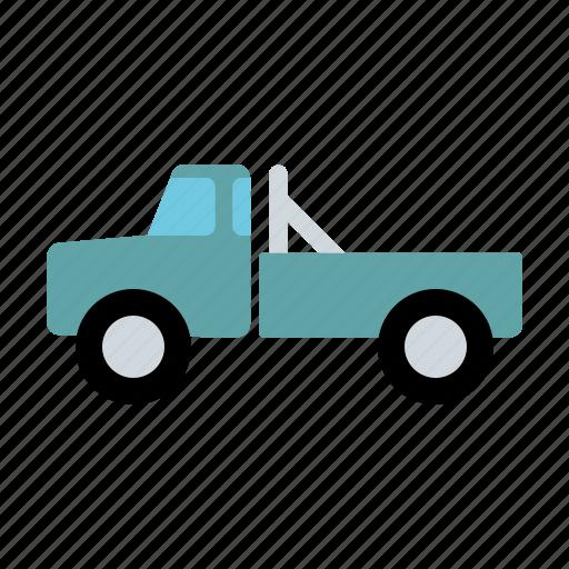 automotive, motor vehicle, pickup, traffic, transportation, truck, van icon