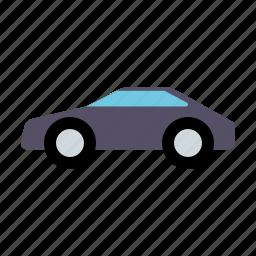 automotive, car, coupe, motor vehicle, traffic, transportation icon