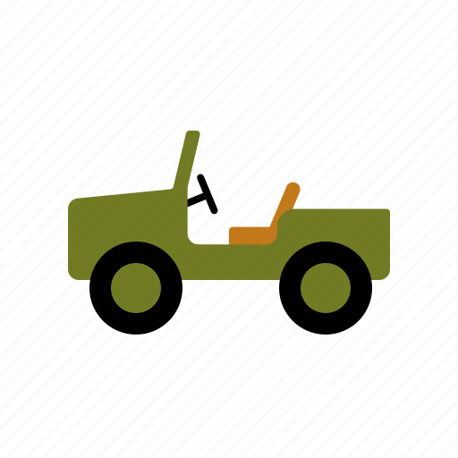 automotive, car, military, motor vehicle, off-road, traffic, transportation icon