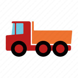 automotive, dipper, dump, motor vehicle, traffic, transportation, truck icon