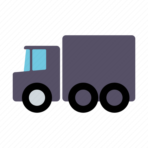 automotive, hauling, lorry, motor vehicle, traffic, transportation, truck icon