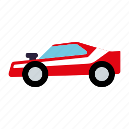 automotive, car, dragster, motor vehicle, muscle car, traffic, transportation icon