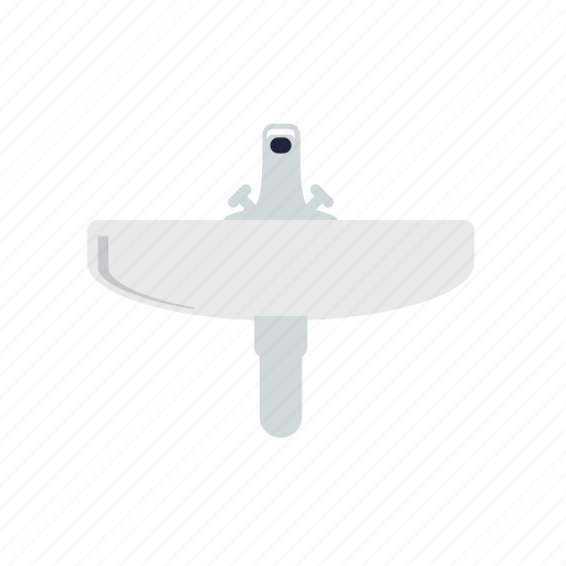basin, bathroom, fixture, hygiene, sink icon
