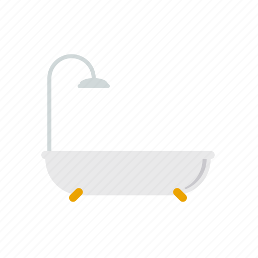 bathroom, bathtub, beauty, fixture, hygiene, shower icon