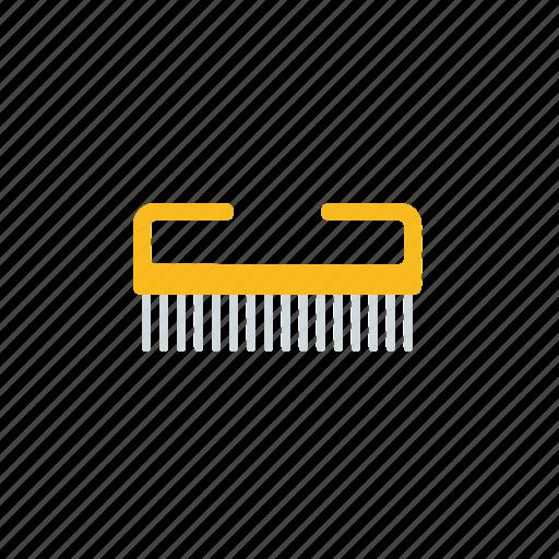 bathroom, beauty, hygiene, nailbrush icon