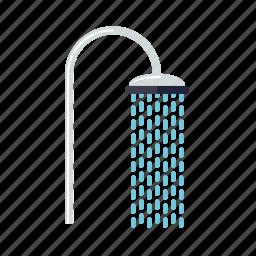 bathroom, beauty, fixture, hygiene, shower, water icon