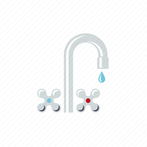 bathroom, faucet, fixture, hygiene, tap, water icon