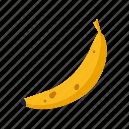 banana, eating, food, fruit, healthy icon