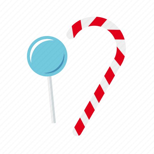 candy, candy cane, food, lollipop, lolly, stick, sweets icon