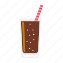 beverage, cola, drink, food, glass, lemonade, soft drink icon