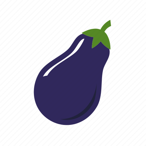 eating, eggplant, food, healthy, vegetable icon
