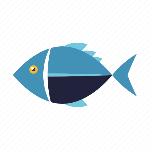 fish, food, healthy eating, seafood icon