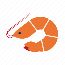 crustacean, food, prawn, seafood, shrimp icon