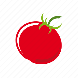 food, fruit, healthy eating, tomato, vegetable icon
