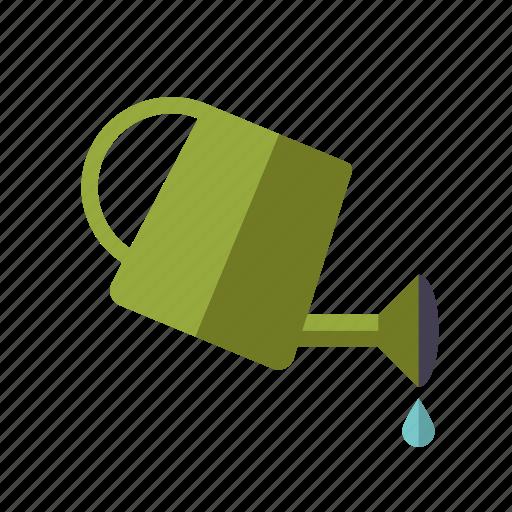 equipment, garden, gardening, plastic, water, watering can icon