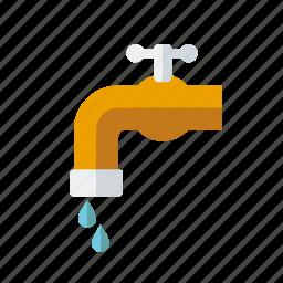 equipment, faucet, garden, gardening, tap, water icon