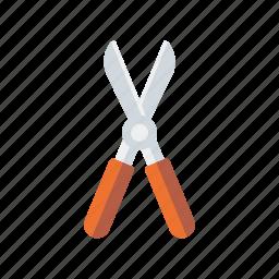 equipment, garden, gardening, scissors, secateurs, tool icon