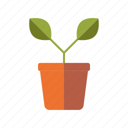 equipment, flower pot, garden, gardening, plant, sprout icon
