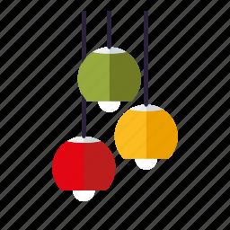 ceiling lamp, furniture, home, interior, lamp, light, retro icon