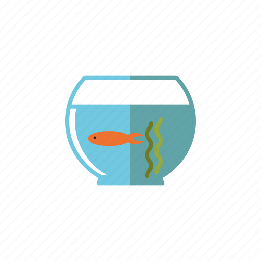Decoration, fish bowl, fish tank, gold fish, interior icon - Download on Iconfinder