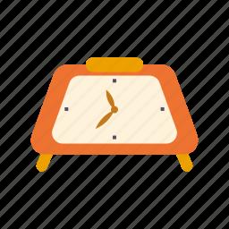 clock, decoration, interior, retro, time icon