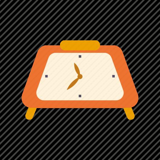 Clock, decoration, retro, time, interior icon