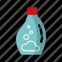 bottle, chores, conditioner, equipment, fabric softener, household, utensil icon