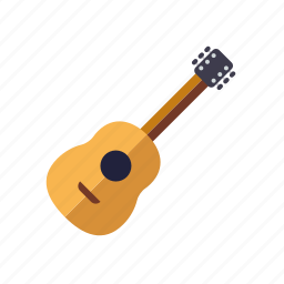 acoustic, guitar, instrument, music, sound, string icon