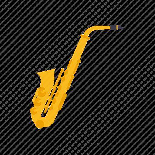 brass, instrument, jazz, music, saxophone, sound, wind icon