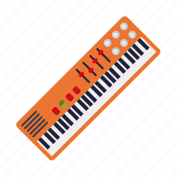 electric, instrument, keyboard, music, organ, sound, synthesizer icon