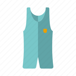 athletics, clothing, equipment, sports, sportswear, suit, wrestling icon