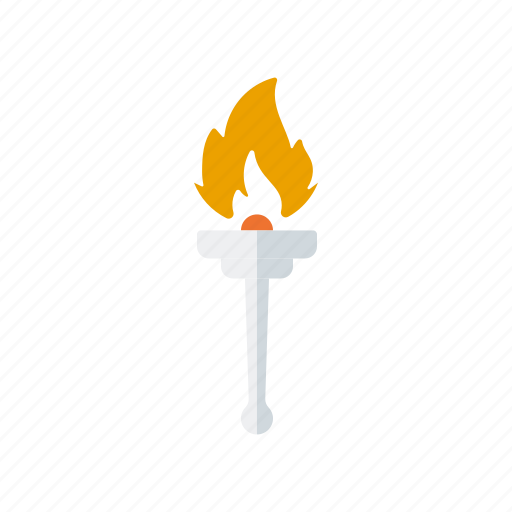 athletics, fire, flame, olympic torch, olympics, sports icon