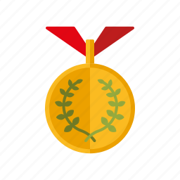 athletics, award, competition, gold, laurel wreath, medal, sports icon