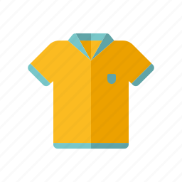 clothing, equipment, polo shirt, rugby shirt, sports, sports wear icon