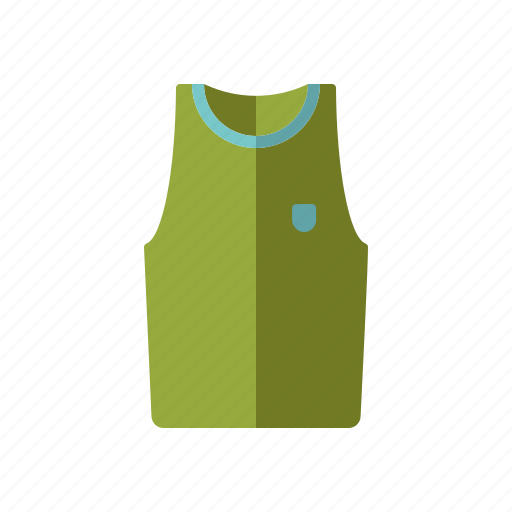 athletics, clothing, equipment, shirt, sports, sportswear, tank top icon