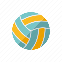 beach volleyball, equipment, sports, team sports, volleyball icon