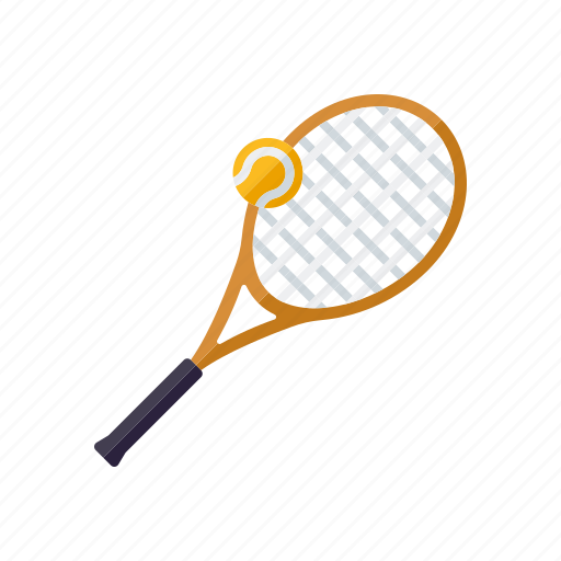 equipment, racket, sports, tennis, tennis ball icon