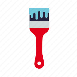 craft, do it yourself, paint, paintbrush, tool, workshop icon