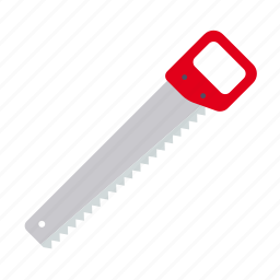 craft, crosscut, do it yourself, rip saw, saw, tool, workshop icon