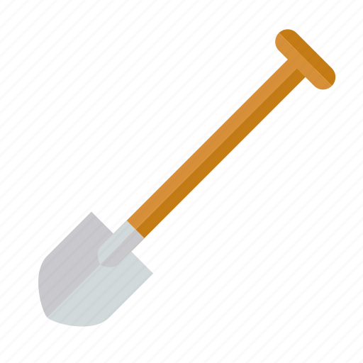 gardening, shovel, spade, tool icon