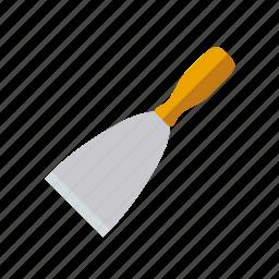 craft, do it yourself, masonry, spatula, tool, workshop icon