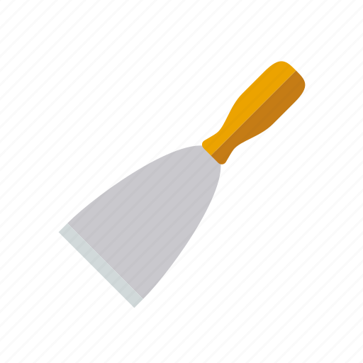 craft, do it yourself, masonry, spatula, tool, workshop icon