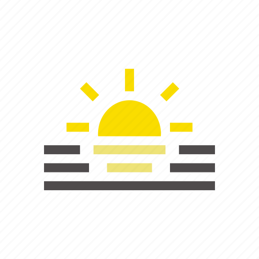 energy, forecast, idea, light, lightning, sun, sunrise icon