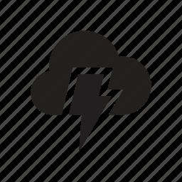 darkness, flash, menace, problem, shadow, storm, weather icon