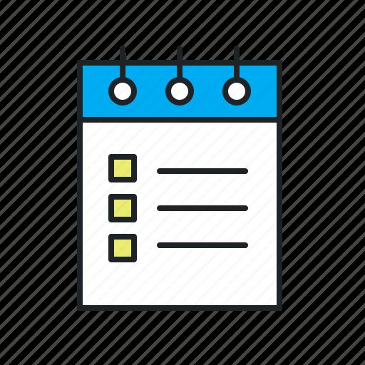 Brief, details, goals, list, plan, tasknote, tasks icon - Download on Iconfinder