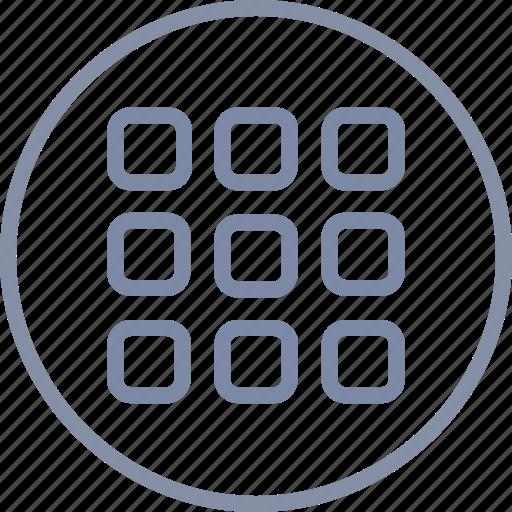 App, application, grid, interface, menu, registry icon - Download on Iconfinder